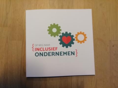 omslag boek Op weg naar inclusief ondernemen
