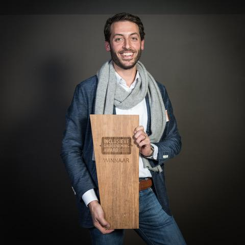 Winnaar Award Inclusieve Onderneming 2018